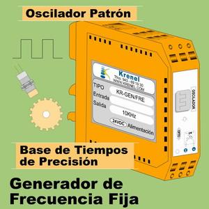 07d-Generador - Oscilador Patrón de Frecuencia Fija