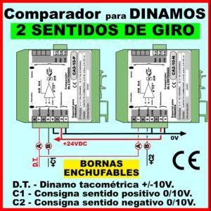 08c2- Comparador para dinamos en los dos sentidos de giro