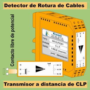 08d- Detector de rotura de cables y transmisor a distancia de C.L.P