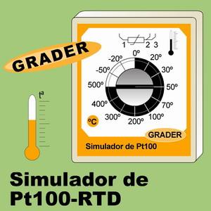 13c- GRADER. Simulador de Pt100