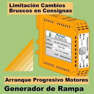 14a- Convertidor de Señal, salida rampa-pendiente constante ajustable