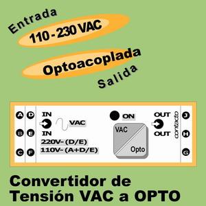 14h- Convertidor 110-230VAC - Optoacoplador